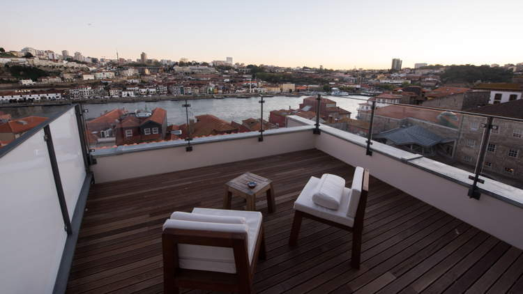 Carrís Room with views and a terrace