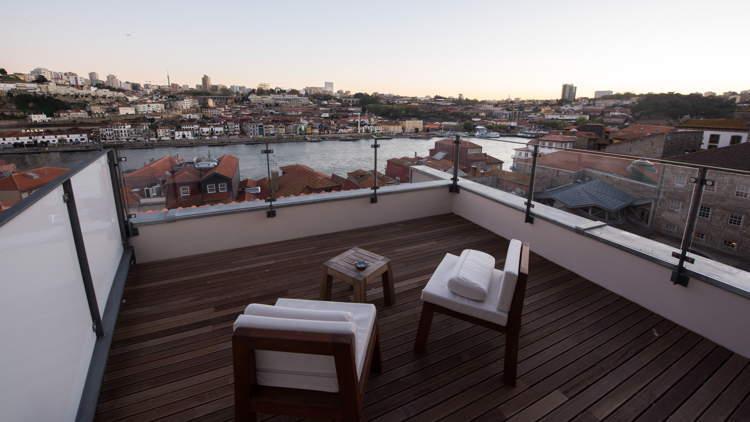 Carrís Room vistas con terraza